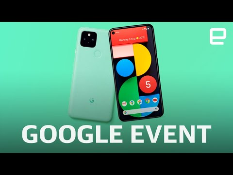 Google Pixel 5 and 4a 5G event in 8 minutes