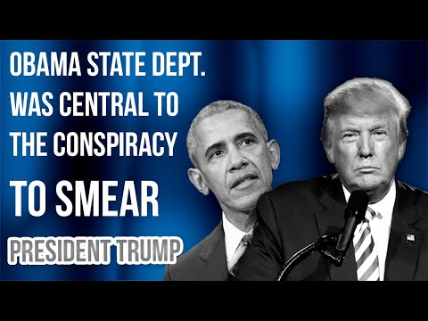 State Dept. Docs Reveal Efforts by Obama State Department to Undermine Pres. Trump! | Tom Fitton