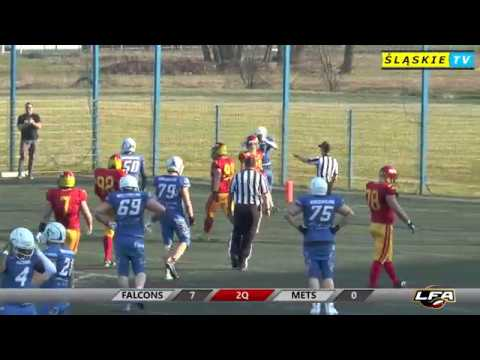 LFA1 2019: Tychy Falcons vs Warsaw Mets 31:13