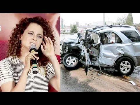 Kangana Ranaut Reveals Details About Her CAR ACCIDENT In America | Simran Trailer