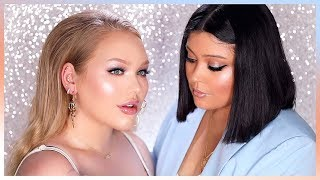RIHANNA'S MAKEUP ARTIST DOES MY MAKEUP! | ft. Priscilla Ono