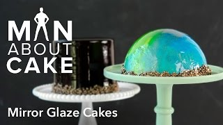 (man about) Mirror Glaze Cakes | Man About Cake with Joshua John Russell
