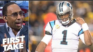 Panthers 'stunk up the joint' in 52-21 loss to Steelers - Stephen A. | First Take