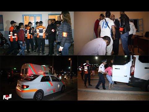 التدخلات الأمنية في موازين وإعتقالات بالجملة في سلا
