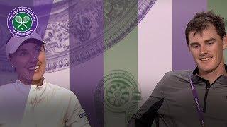 Jamie Murray & Martina Hingis Wimbledon 2017 final press conference
