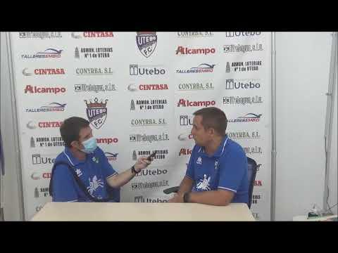 QUIQUE BENEDÍ (Entrenador Borja) FC Utebo 1-0 SD Borja / Jornada 2 - Grupo A / Copa Federación