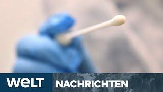 NEWS IM STREAM: Corona-Comeback - Testpflicht und Maskenzwang, Covid-19 hat Deutsche fest im Griff
