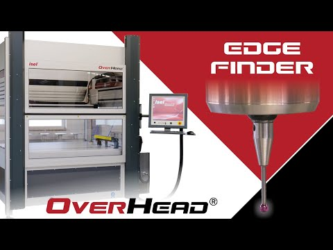 isel CNC machine | fully equipped overhead with edge finder