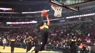 Gary Harris misses dunk attempt at McDonald's game