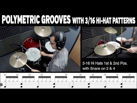 Building Polymetric Grooves Using 3/16 Hi-Hat Patterns (FREE PDF)