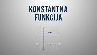 Konstantna funkcija