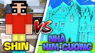 TROLL SHIN Bằng NHÀ KIM CƯƠNG Trong Minecraft!!