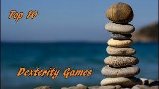 Top 10 Dexterity Games - Family Showdown Live!