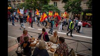 Independentistas catalanes salen de prisión tras indulto de Pedro Sánchez
