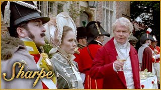 Lieutenant Colonel Girdwood &  Henry Simmerson Discuss Their Recruits | Sharpe