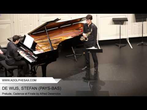 Dinant 2014 - DE WIJS, Stefan (Prelude, Cadence et Finale by Alfred Desenclos)