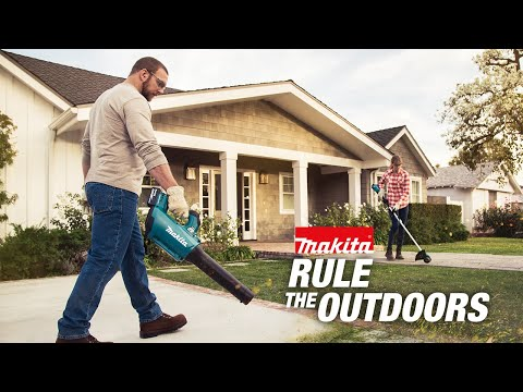 Makita - Rule the Outdoors - 18V LXT Cordless Blower