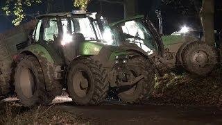 NRWspot.de | Iserlohn – Mit 100 lebenden Ferkeln beladener Anhänger rutscht in Graben