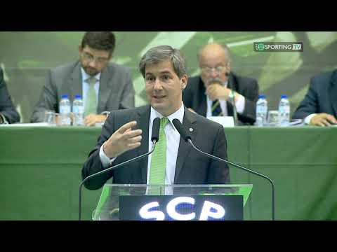 Discurso do Presidente Bruno de Carvalho na Assembleia Geral do Sporting Clube de Portugal