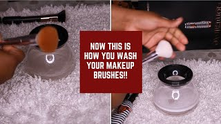 DOES IT REALLY WORK? Makeup Brush Cleaner Review & Demo