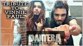 Girish Pradhan - Cowboys From Hell! A tribute to Vinnie Paul feat. Yogesh Pradhan (GATC)