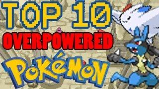 Top 10 Overpowered Generation 4 Pokemon