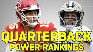 Ranking the NFL QB's from Worst to First