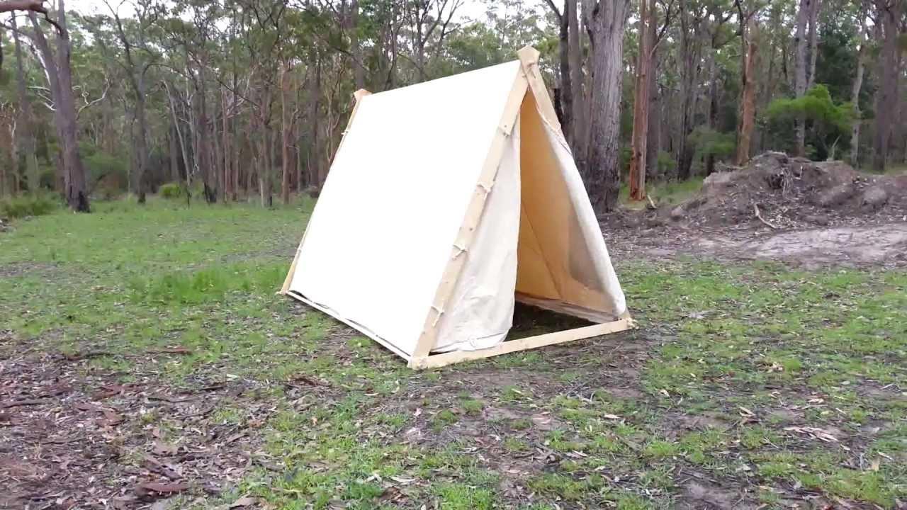 Viking A Frame Tent Youtube