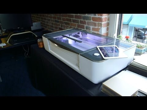 video Glowforge Plus 3D Laser Printer