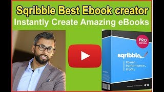 Sqribble Best Ebook creator -  Instantly Create Amazing eBooks