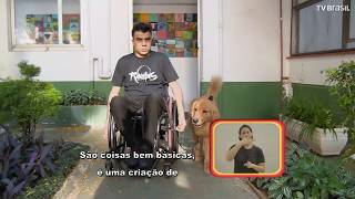 Programa Especial - atleta tetraplégico Lucas Junqueira e seu cão de assistência Paçoca