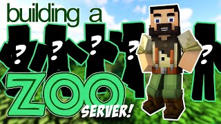 I'm Building A Zoo In Minecraft... With You!