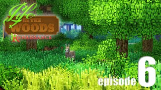 Life In The Woods (A Minecraft Adventure) - EP06 - I Made A Friend!
