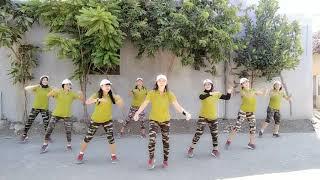 Dj Haning lagu Dayak full team