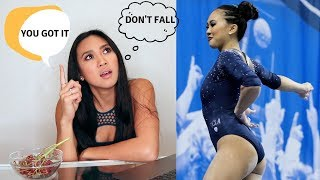 What I Think While Competing | BAD VS. GOOD BEAM ROUTINE