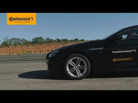 Prueba nueva gama neumáticos Continental