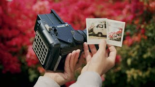 Shooting Fuji Instax on the Mamiya RZ67
