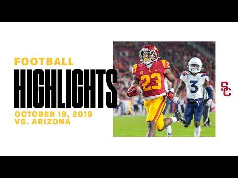 Football: USC 41, Arizona 14 - Highlights 10/19/19