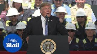 Trump uses energy speech to mock 2020 Democrats