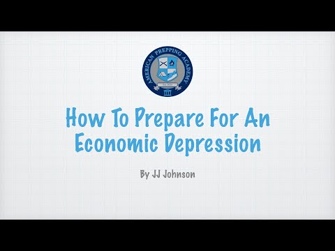 How To Prepare For An Economic Depression (A Patreon Short)