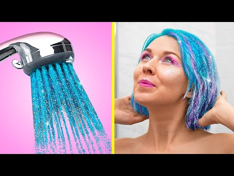 13 Easy Beauty Hacks / Christmas Hairstyle and Makeup Ideas