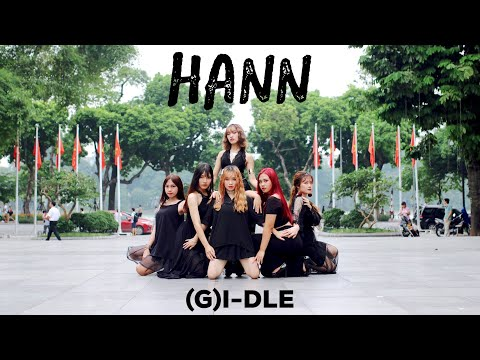 [KPOP IN PUBLIC CHALLENGE] (G)I-DLE (여자아이들) - '한(HANN(Alone))' - 1theK Dance Cover Contest by C.A.C