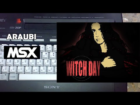 Día de Brujas (Joesg, 2020) MSX [753] Walkthrough