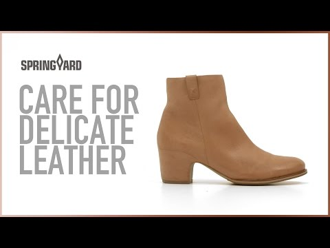 Care For Delicate Leather