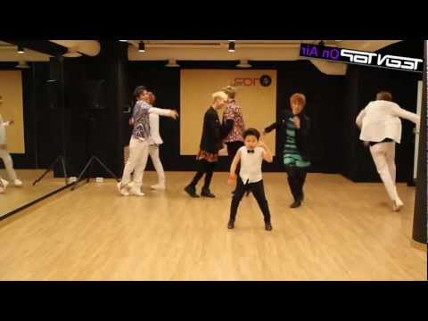 MIRRORED Miss Right - Teen Top (틴탑) ft Little PSY Dance Practice 2