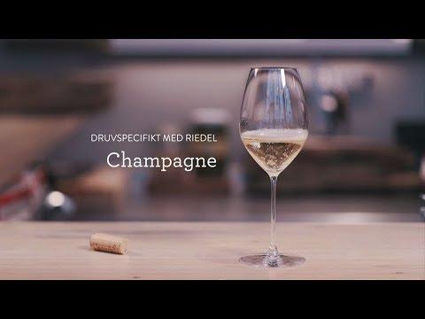 Druvspecifikt med Riedel - Champagne