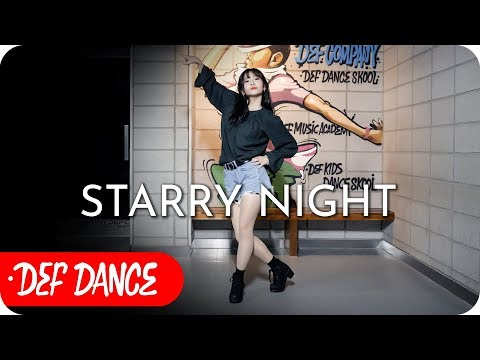 MAMAMOO (마마무) - Starry Night (별이 빛나는 밤) 댄스학원 No.1 KPOP DANCE COVER (Mirrored) 데프수강생 빨리평가 defdance