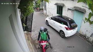 Lucky Rider Avoids Falling Gate || ViralHog