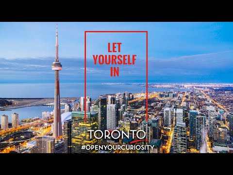 Video: Tourism Toronto's new destination campaign - Let Yourself In