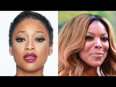 Trina & Wendy Williams Go At Each Other THROAT During A Live Interview   Throwback Hip Hop Beef